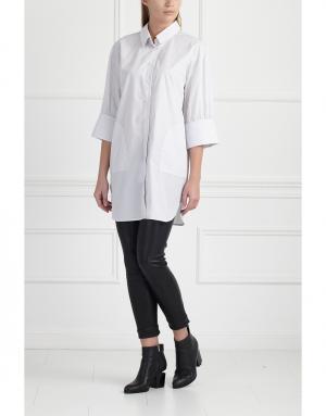 Рубашка MoS. Цвет: серый