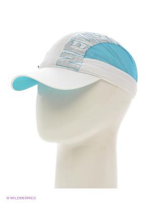 Бейсболка Maxval. Цвет: белый, голубой