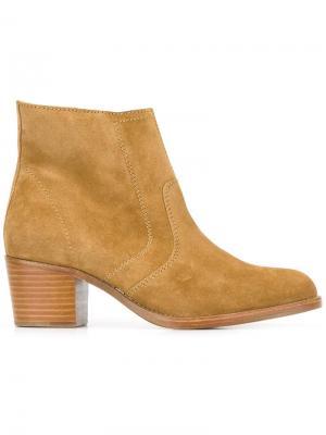 Ботинки по щиколотку A.P.C.. Цвет: коричневый