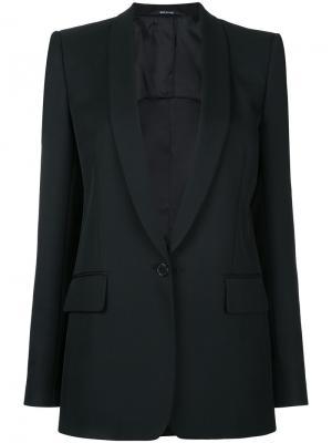 Классический пиджак Maison Margiela. Цвет: чёрный