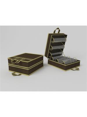 Органайзеры для хранения Камея. Цвет: коричневый