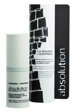 Регулирующая сыворотка для лица La Solution + Controle 15ml Absolution. Цвет: без цвета