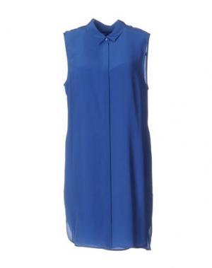 Короткое платье EQUIPMENT FEMME. Цвет: синий