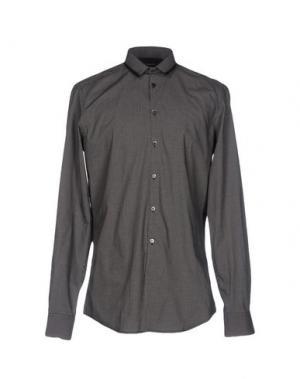 Pубашка COSTUME NATIONAL HOMME. Цвет: черный