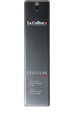 Восстанавливающий крем для лица с клеточным комплексом La Colline. Цвет: бесцветный