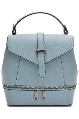 Backpack ANNA LUCHINI. Цвет: light blue