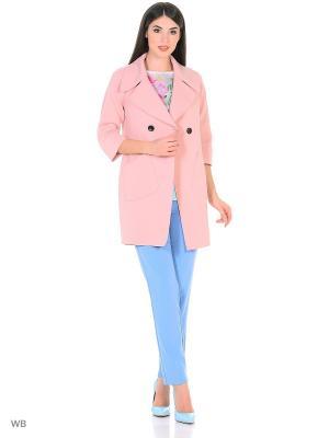 Пальто Snow Airwolf. Цвет: розовый