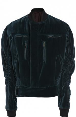 Куртка-бомбер Haider Ackermann. Цвет: зеленый