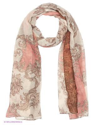 Платок AtStyle247. Цвет: коричневый, розовый