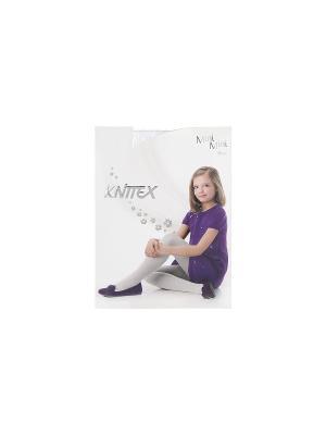 Колготки для девочки Knittex Mini. Цвет: белый