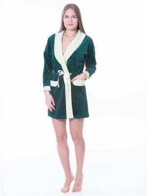 Халаты банные Startale. Цвет: зеленый