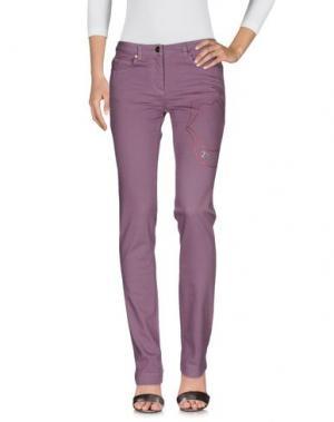 Джинсовые брюки TRUST TOILETTE. Цвет: розовато-лиловый