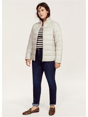 Куртка - SILVER Violeta by Mango. Цвет: серебристый