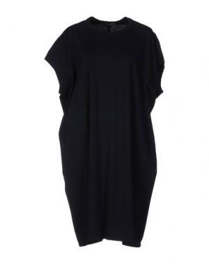 Платье до колена HOPE COLLECTION. Цвет: темно-синий