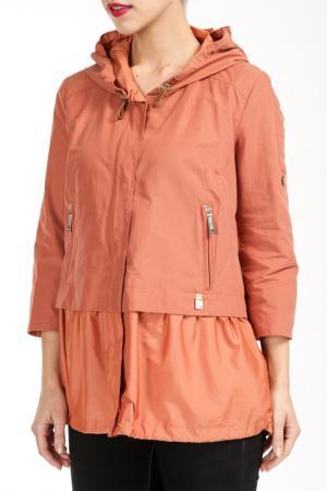 Куртка Salco. Цвет: оранжевый