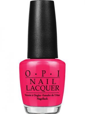 Opi Лак для ногтей DUTCH TULIPS, 15 мл. Цвет: красный