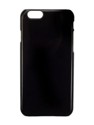 Чехол крышка задняя для iphone 6 IQ Format. Цвет: черный