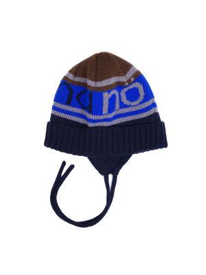 Шапка зимняя NANO. Цвет: синий