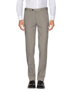 Повседневные брюки VERDERA. Цвет: голубиный серый