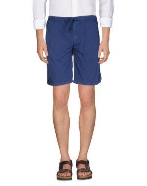 Повседневные шорты PERFECTION. Цвет: синий
