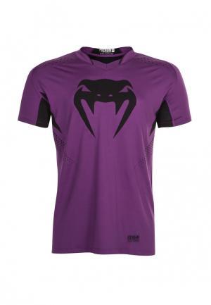 Футболка Venum. Цвет: фиолетовый