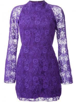 Платье Tea Party Manning Cartell. Цвет: розовый и фиолетовый