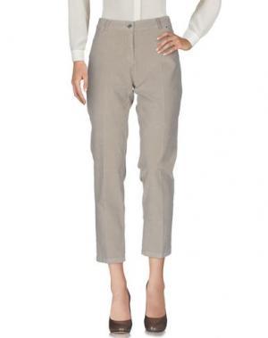 Повседневные брюки BLUKEY. Цвет: бежевый