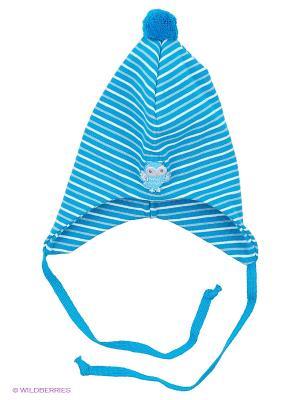 Шапка Kivat. Цвет: голубой, белый