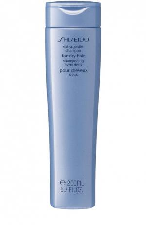 Мягкий шампунь Extra Gentle для сухих волос Shiseido. Цвет: бесцветный