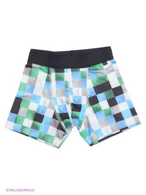 Трусы TIPTOP YOUTH Quiksilver. Цвет: черный, зеленый, голубой, белый