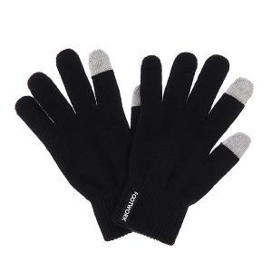 Перчатки  iFingers Black Footwork. Цвет: черный