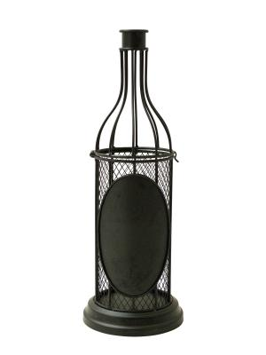 Декоративная емкость для винных пробок/мелочей Chalk BOSTON. Цвет: коричневый