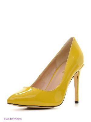 Туфли Winzor. Цвет: желтый