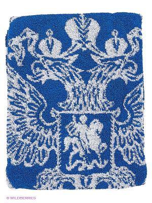 Полотенце Atributika & Club. Цвет: синий