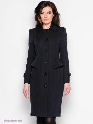 Пальто Elena Shipilova. Цвет: темно-синий