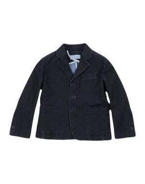 Джинсовая верхняя одежда MIMISOL. Цвет: стальной серый