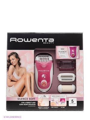 Эпилятор Rowenta EP5660D0 скор.:2 насад.:5 белый/розовый. Цвет: розовый, белый