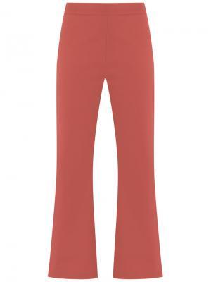 Cropped trousers Talie Nk. Цвет: жёлтый и оранжевый