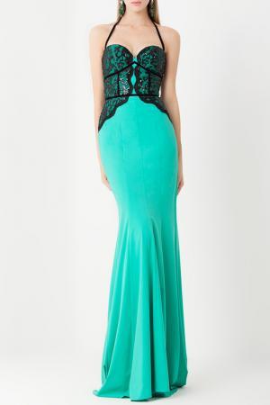 Платье Isabel Garcia. Цвет: green