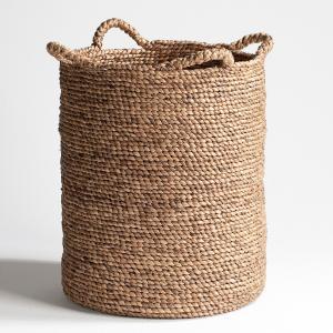 Круглая плетеная корзина В55 см, Raga AM.PM.. Цвет: серо-бежевый