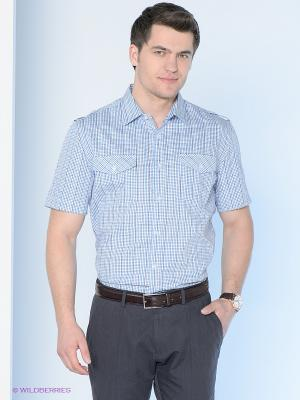 Рубашка Maestro. Цвет: голубой, синий