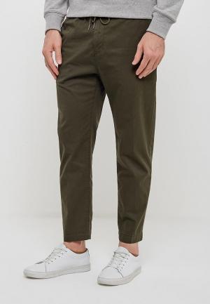 Чиносы Calvin Klein Jeans. Цвет: хаки