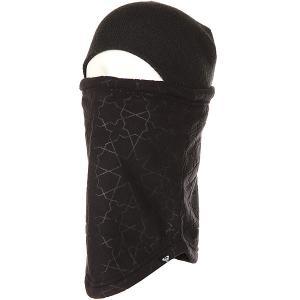 Балаклава женская  Cascade Collar True Black Gana Embo Roxy. Цвет: черный
