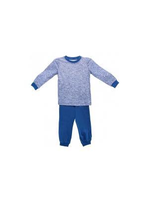 Пижама РОССИЙСКИЙ ТРИКОТАЖ. Цвет: синий