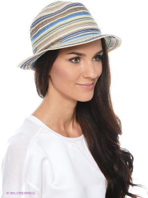 Шляпа SEEBERGER. Цвет: бежевый, коричневый, голубой