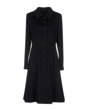 Пальто DIVINA by RGG GROUP. Цвет: темно-синий