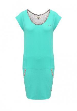 Платье Icepeak. Цвет: зеленый