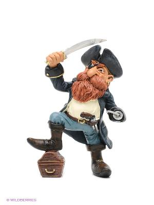 Фигурка Пират Рыжая Борода The Comical World of Stratford. Цвет: темно-синий, серо-голубой, коричневый, белый