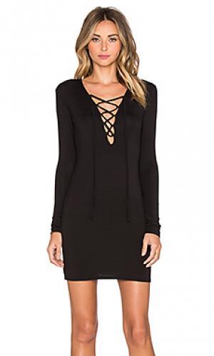 Платье elsa De Lacy. Цвет: черный