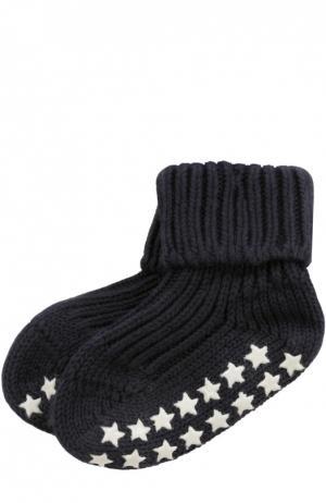 Вязаные носки Catspads Falke. Цвет: темно-синий